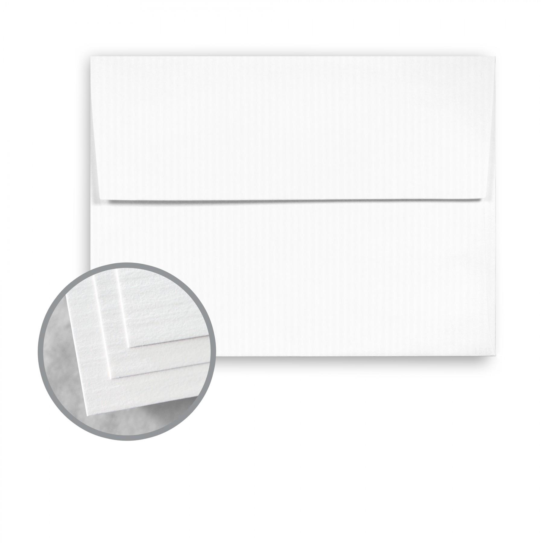 Solar white envelopes a7 5 1 4 x 7 1 4 80 lb text for Classic columns paper