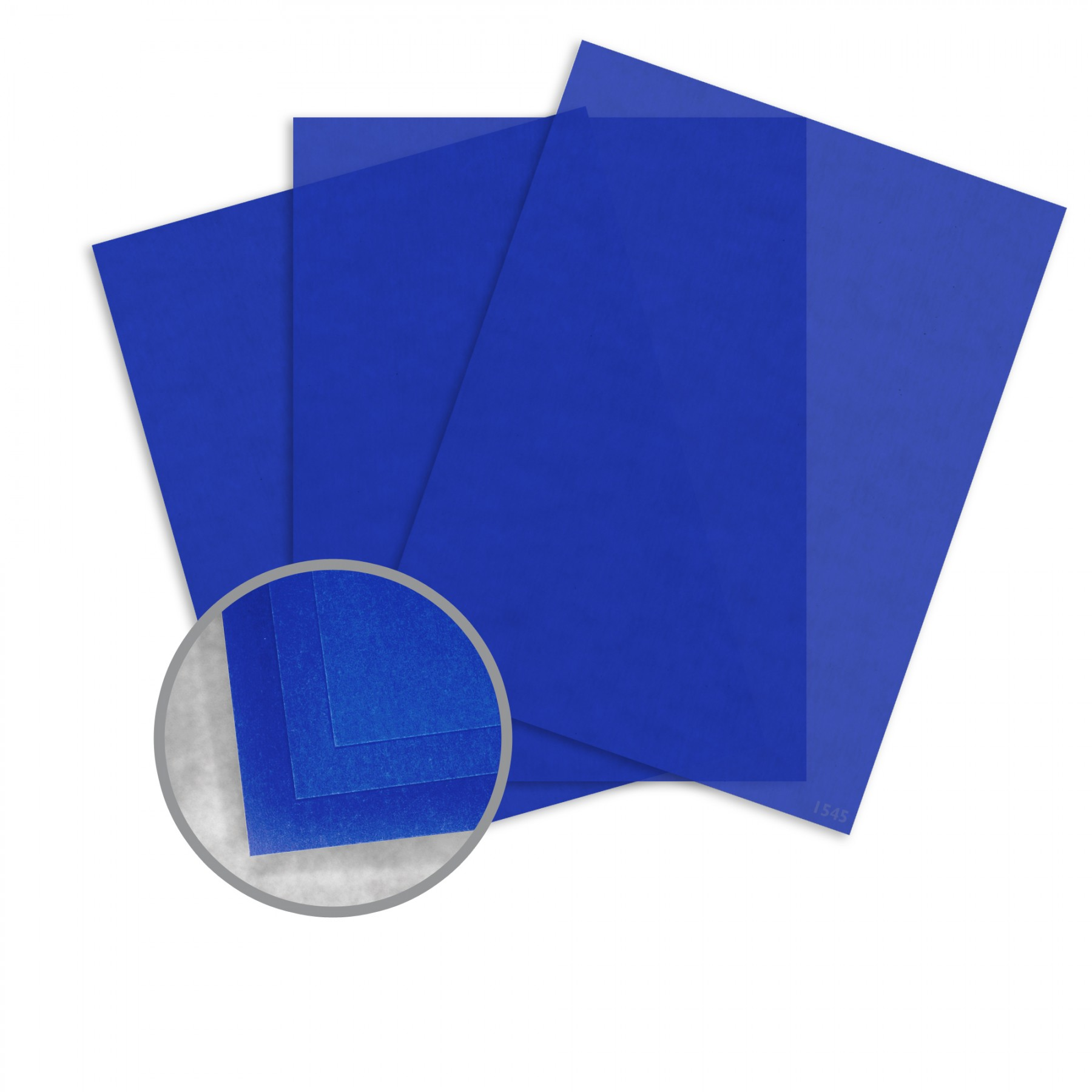 Blue Paper 8 1 2 X 11 In 27 Lb Bond Translucent Vellum