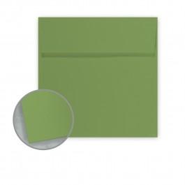 square envelopes white colored translucent metallic