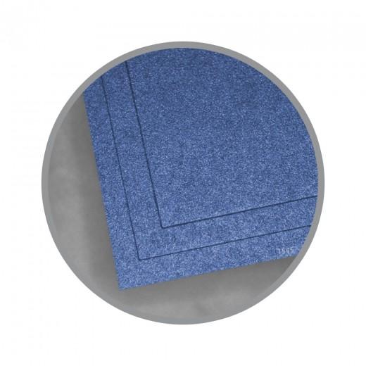 cbcb81b0e419ce Blue Star Card Stock - 8 1 2 x 11 in 105 lb Cover Metallic