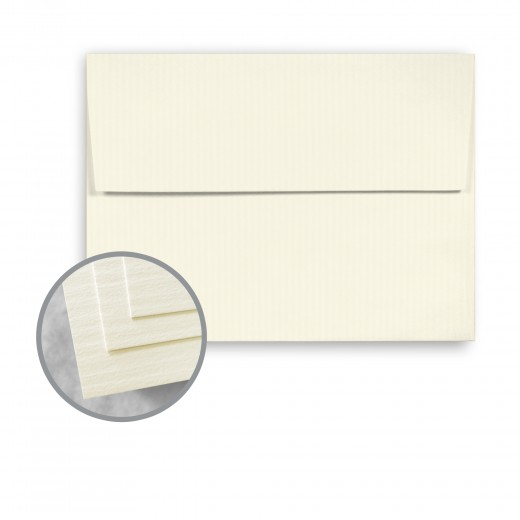 Classic natural white envelopes a2 4 3 8 x 5 3 4 80 lb for Classic columns paper