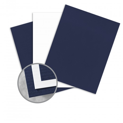 Patriot Blue Recycled 100 Bright White Card Stock 26 X