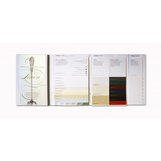 CLASSIC Linen Swatchbook | The Paper Mill Store