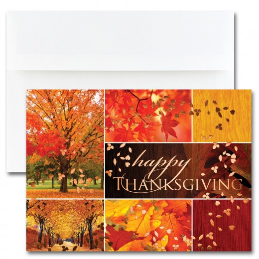Thanksgiving Collage Cards From The Fine Impressions Blank Thanksgiving Cards Collection
