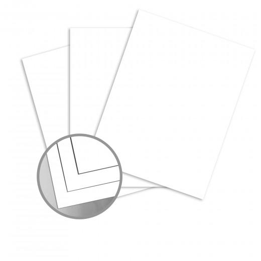 Futura White Card Stock - 19 x 13 in 100 lb Cover Matte C/2S 200 per Package