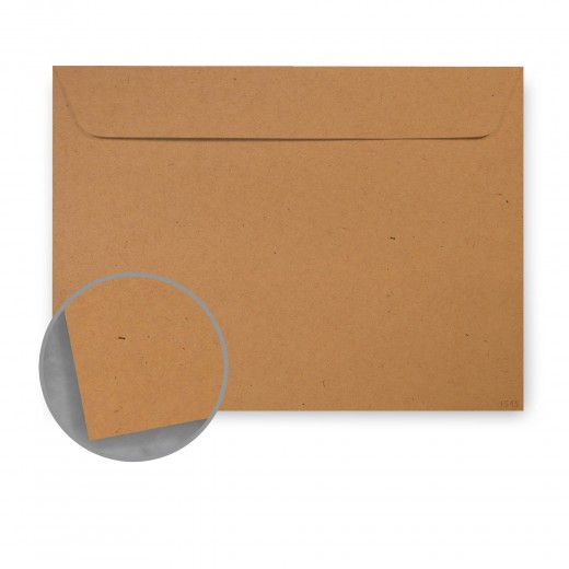 Kraft-Tone Brown Box Kraft Envelopes - No  6 1/2 Booklet (6 x 9) 70 lb Text  Vellum 100% Recycled 500 per Carton