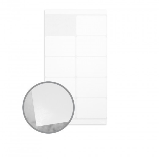 white labels 3 x 2 labels on 6 1 8 x 11 1 2 sheets 8 6 mils