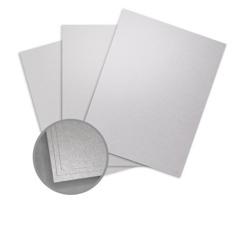 silver ore paper 8 1 2 x 11 in 80 lb text metallic aspire