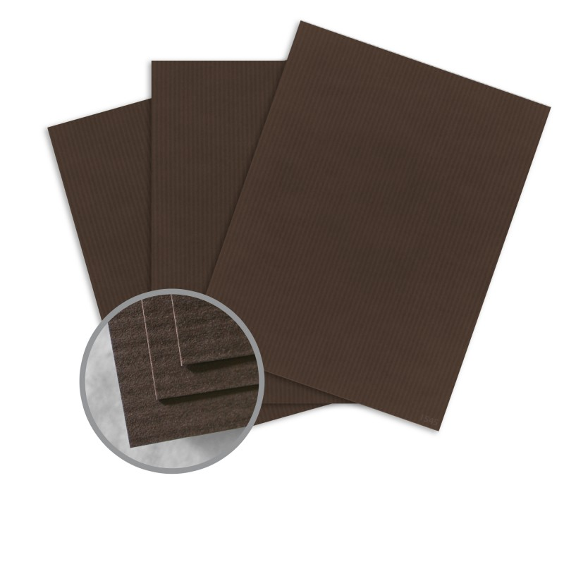 Canyon brown card stock 35 x 23 in 80 lb cover embossed for Classic columns paper