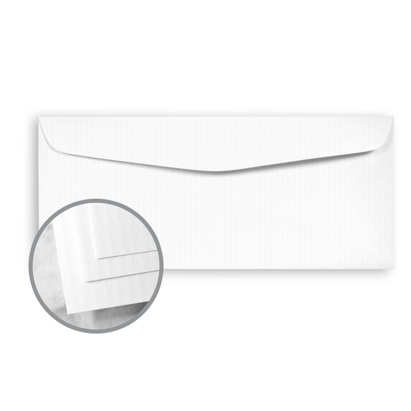 Recycled 100 bright white envelopes no 10 commercial 4 for Classic columns paper