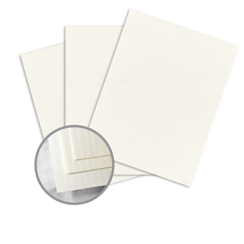 Recycled 100 natural white paper 26 x 40 in 120 lb cover for Classic columns paper