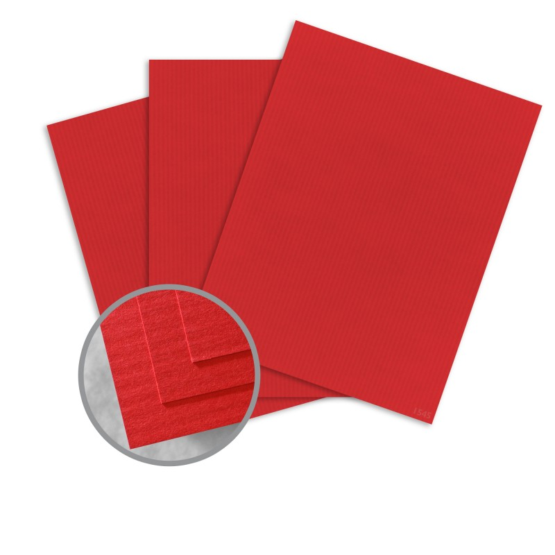 Red Pepper Paper 26 X 40 In 120 Lb Cover Dt Embossed 30