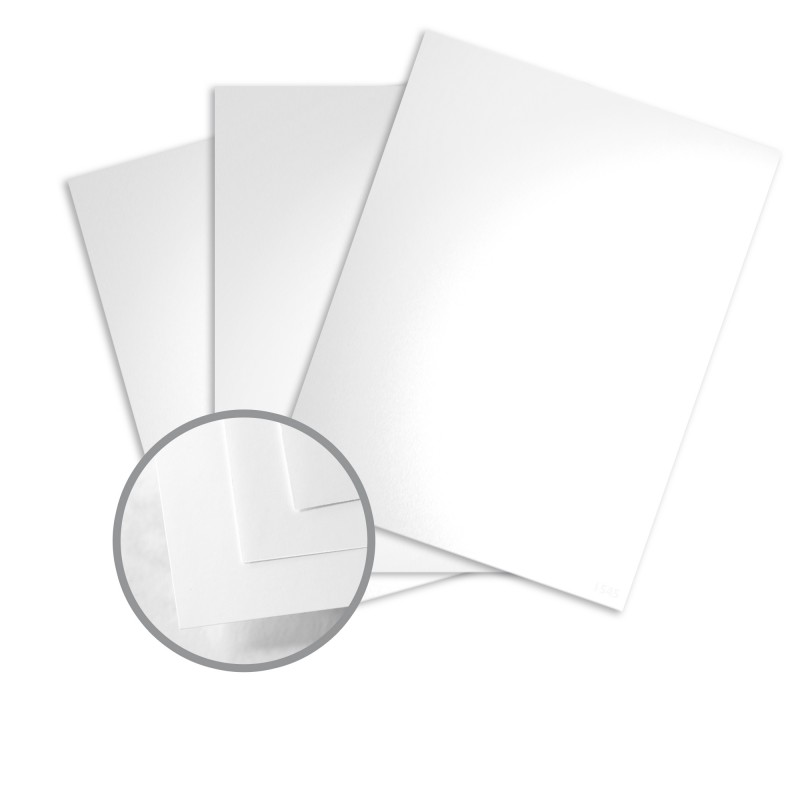 Pure white card stock 8 12 x 11 in 100 lb cover glossy color by mohawk fine papers reheart Images