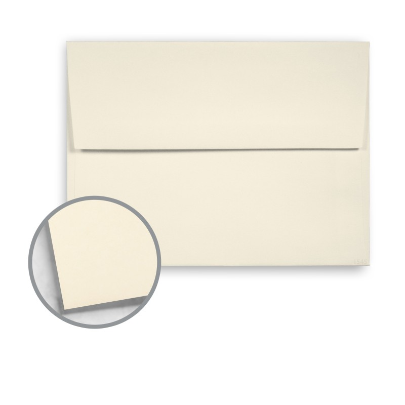 natural envelopes a7 5 1 4 x 7 1 4 70 lb text vellum 10