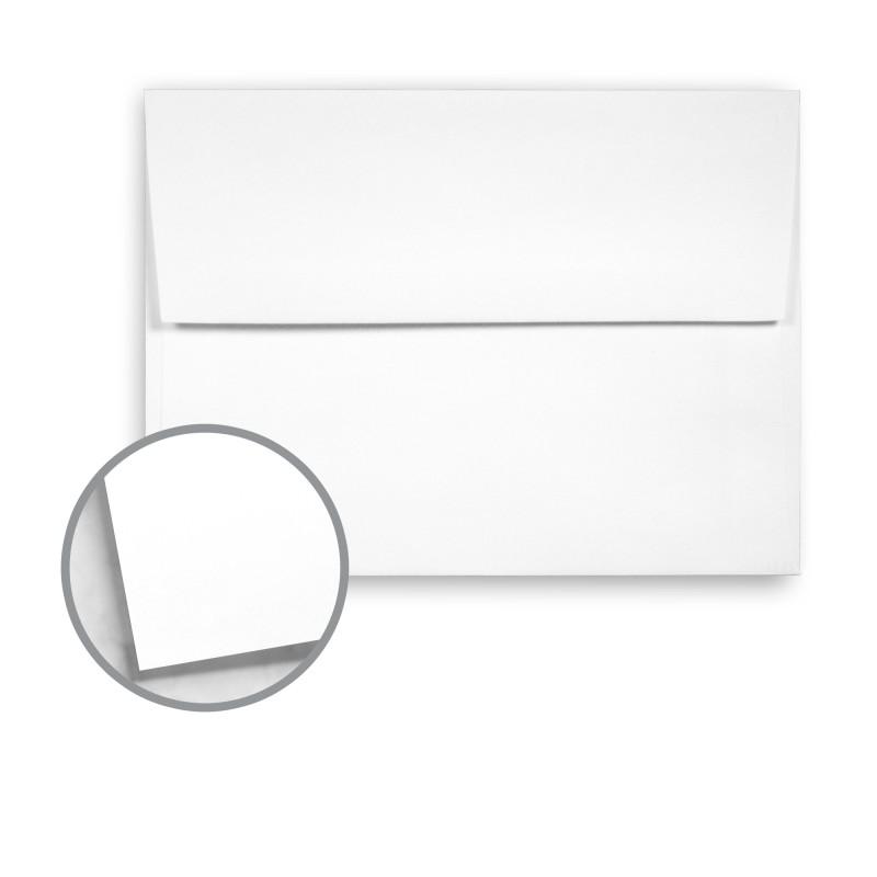 White Envelopes - A2 (4 3/8 x 5 3/4) 70 lb Text Smooth 10 ...