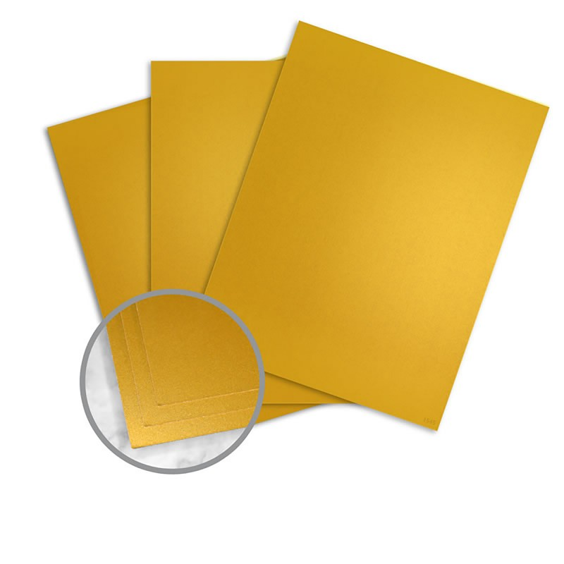 gold paper  2 x 11 in 10 pt cover smooth 10  recycled