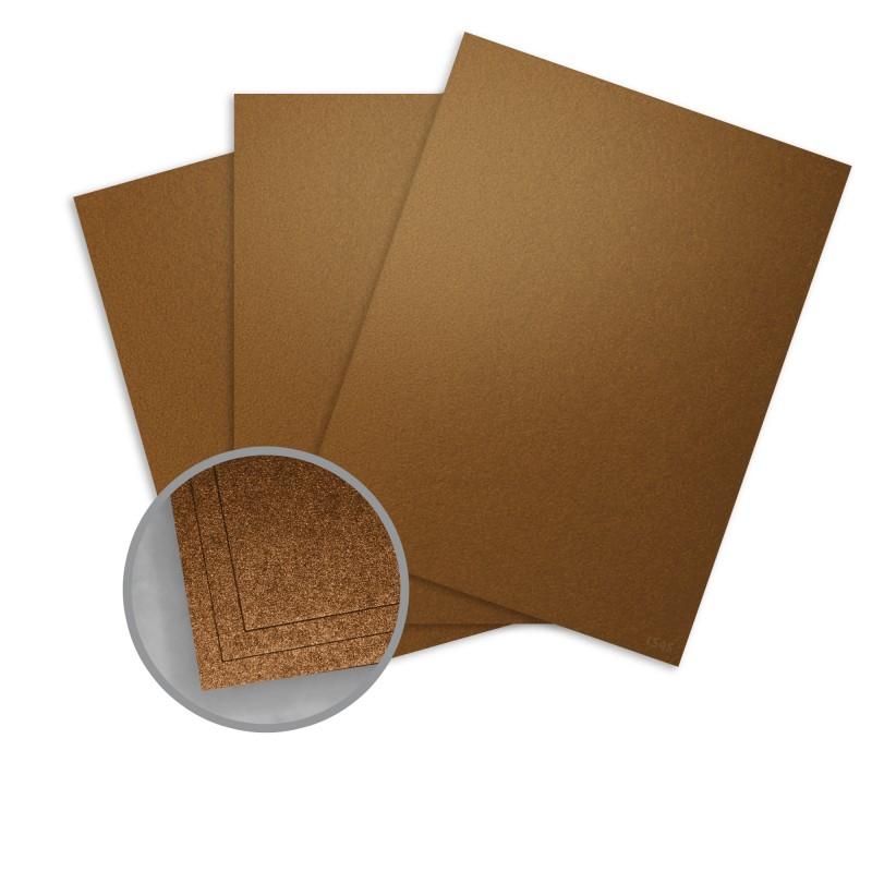 Bronze card stock 8 12 x 11 in 107 lb cover metallic elan by worldwin paper reheart Gallery