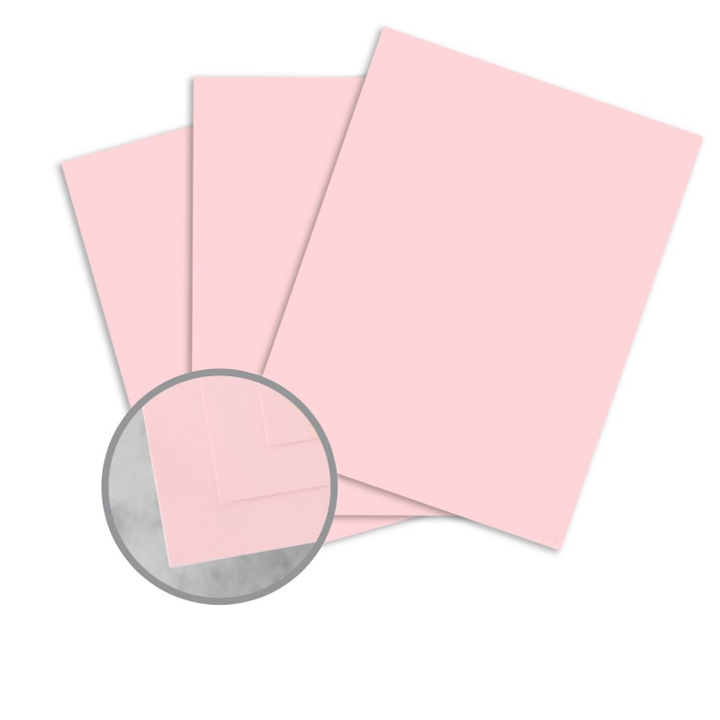 Pink Paper - 8 1/2 x 11 in 20 lb Bond Smooth 100% Recycled ...