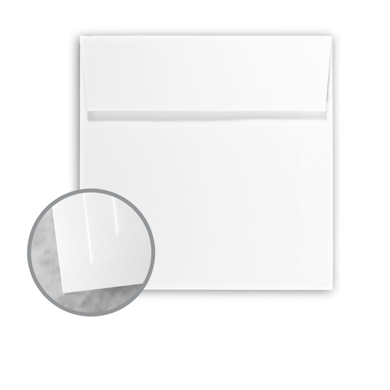 white envelopes no 8 square 8 x 8 70 lb text smooth exact ice