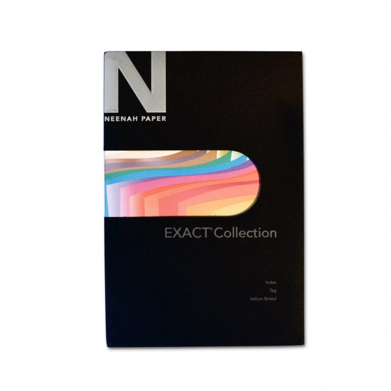 Neenah Paper Exact Vellum Bristol, Tag and Index Paper Sample ...
