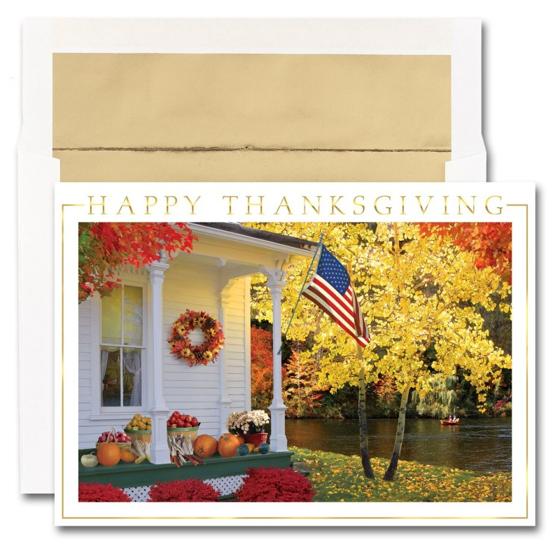 Patriotic Porch Cards From The Fine Impressions Blank