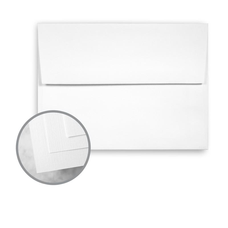 Bright White Envelopes - A2 (4 3/8 x 5 3/4) 70 lb Text Linen ...