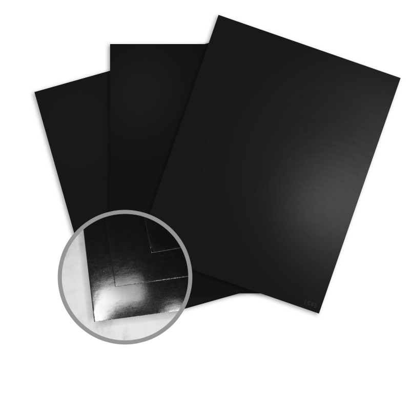 The paper mill store • jazz high gloss black card stock