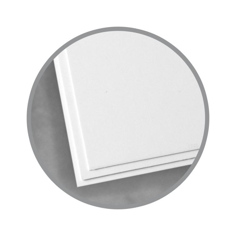 White Paper - 8 1/2 X 11 In 8 Pt Cover Glossy | Kromekote Paper 3
