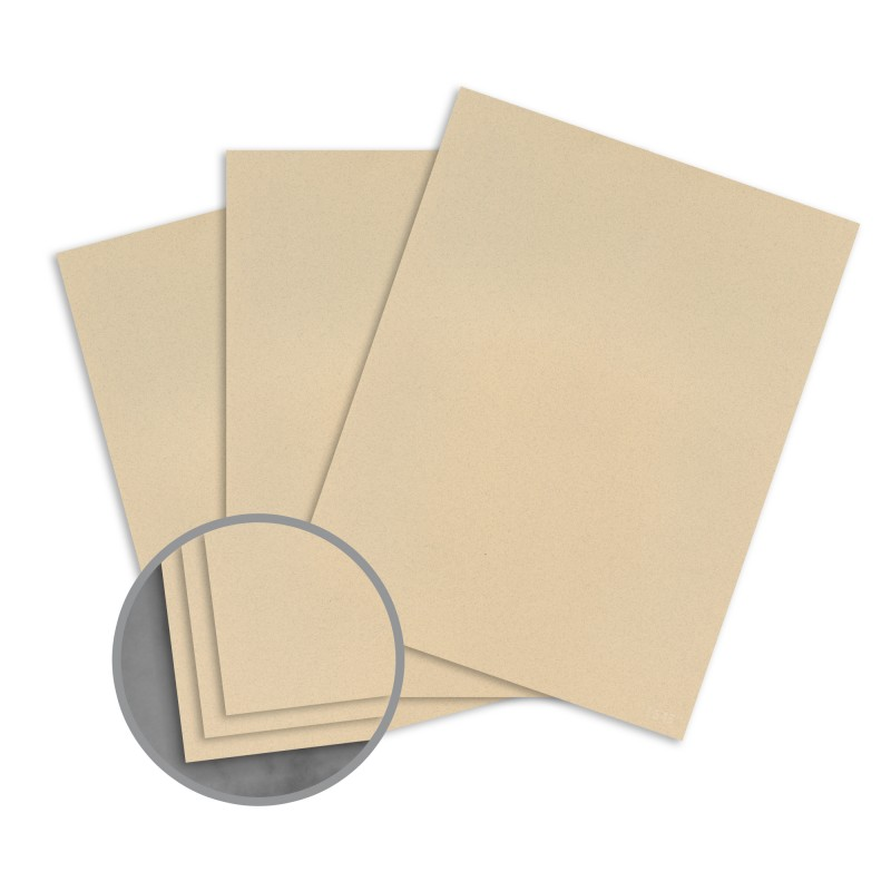 sandstone card stock 8 1 2 x 11 in 80 lb cover smooth 100