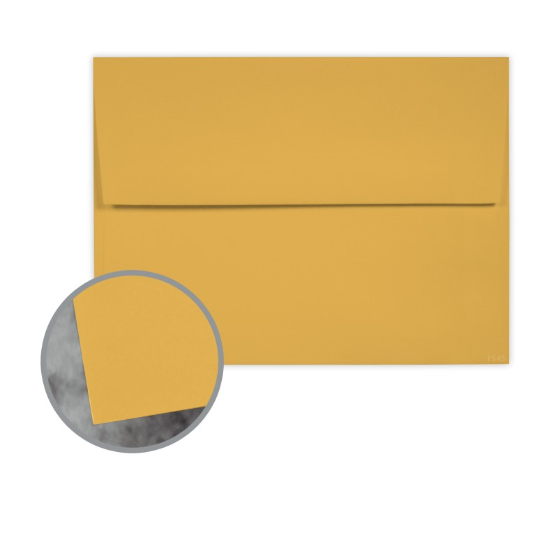 gold envelopes a1 3 5 8 x 5 1 8 70 lb text extra smooth manila