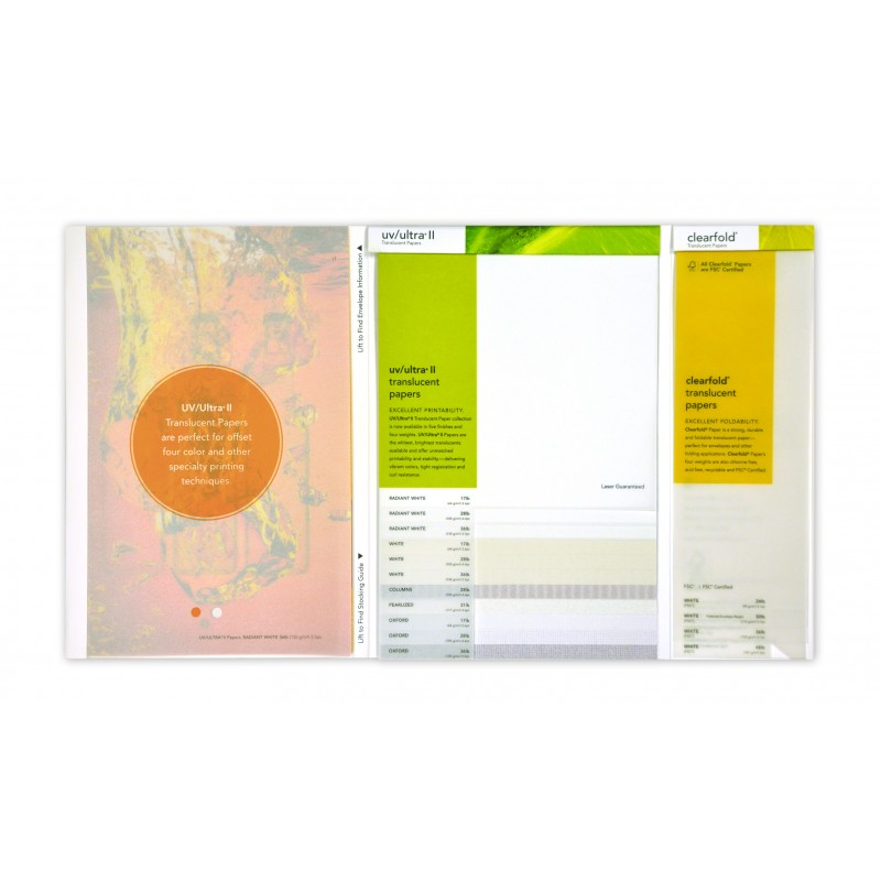 UV/Ultra II Swatchbook | The Paper Mill Store