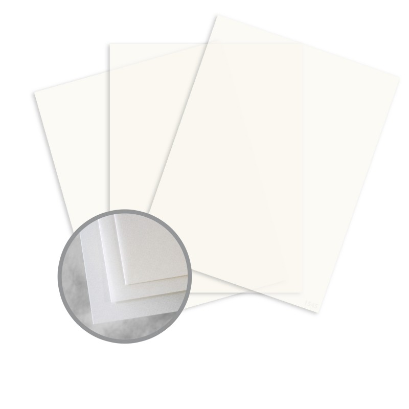 Radiant White Paper - 8 1/2 X 11 In 17 Lb Bond Smooth | Uv/Ultra