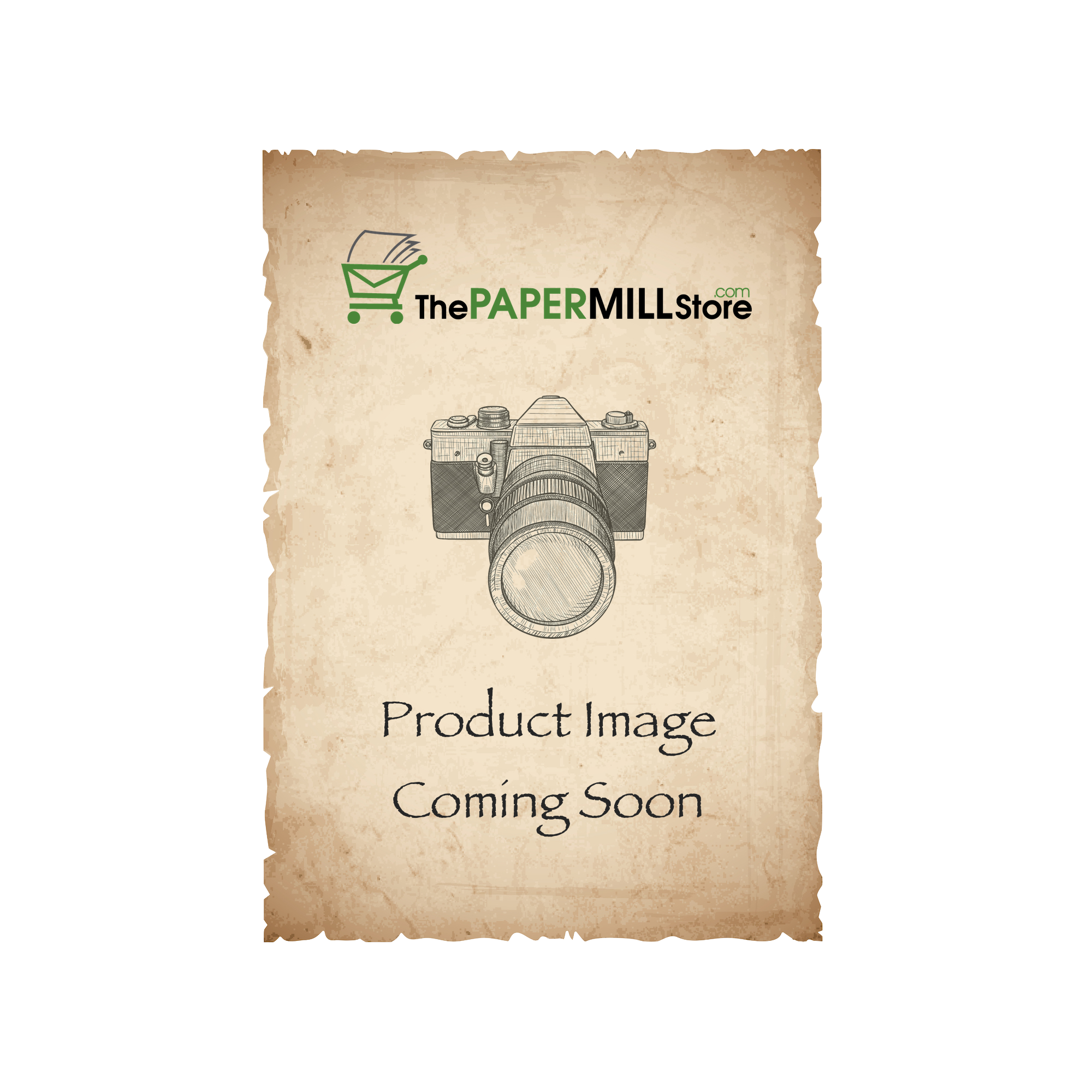 Cascata Coffee Card Stock - 8 1/2 x 11 in 80 lb Cover Felt 25 per Package