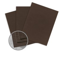 Canyon brown card stock 26 x 40 in 80 lb cover embossed for Classic columns paper