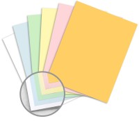 Multi colored carbonless paper 8 1 2 x 11 in 21 5 lb for Blue bond paper