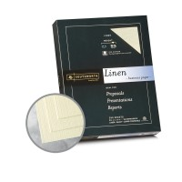 Ivory Paper 8 1 2 X 11 In 32 Lb Bond Linen 30 Recycled