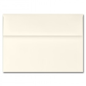 Fine Impressions Ecru Envelopes - A7 (5 1/4 x 7 1/4) 70 lb Text Vellum - 250 per Box