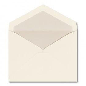 Fine Impressions Ecru Envelopes with Pearl Liner - Dixmore Inner Non Gummed (4 5/8 x 6 3/16) 70 lb Text Vellum - 250 per Box