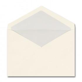 Fine Impressions Ecru Envelopes with Pearl Liner - Jumbo Inner Non Gummed (5 5/16 x 7 5/8) 70 lb Text Vellum - 50 per Box
