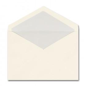 Fine Impressions Ecru Envelopes with Pearl Liner - Tiffany Inner Non Gummed (5 3/4 x 8) 70 lb Text Vellum - 50 per Box