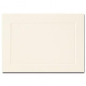 Fine Impressions Ecru Flat Panel Cards - A1 (3 1/2 x 4 7/8) 80 lb Cover Vellum - 250 per Box