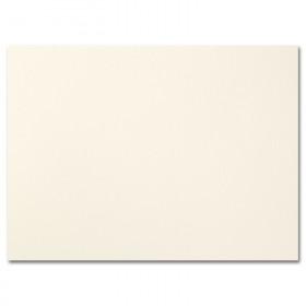 Fine Impressions Ecru Folded Cards - A6 (4 5/8 x 6 1/4 folded) 80 lb Cover Vellum - 250 per Box