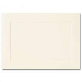 Fine Impressions Ecru Folded Panel Cards - A1 (3 1/2 x 4 7/8 folded) 80 lb Cover Vellum - 250 per Box