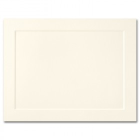 Fine Impressions Ecru Folded Panel Cards - A2 (4 1/4 x 5 1/2 folded) 80 lb Cover Vellum - 250 per Box