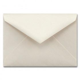 Fine Impressions Ecru Shimmer Envelopes - Tiffany Inner Non Gummed (5 3/4 x 8) 80 lb Text Smooth - 50 per Box