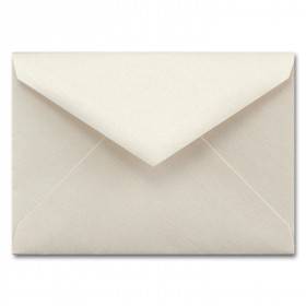 Fine Impressions Ecru Shimmer Envelopes - Tiffany Outer (6 x 8 1/4) 80 lb Text Smooth - 50 per Box
