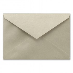 Fine Impressions Gold Shimmer Envelopes - Jumbo Inner Non Gummed (5 5/16 x 7 5/8) 80 lb Text Smooth - 50 per Box