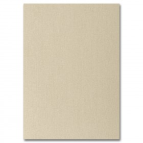 Fine Impressions Gold Shimmer Flat Invitations - Jumbo (5 1/8 x 7 1/4) 105 lb Cover Smooth - 50 per Box