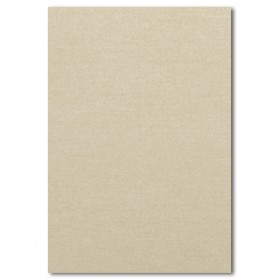 Fine Impressions Gold Shimmer Flat Top Layer Invitations - Jumbo (4 7/8 x 7) 105 lb CoverSmooth - 50 per Box