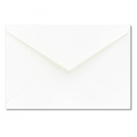 Fine Impressions Hi White Envelopes - Jumbo Outer (5 7/16 x 7 7/8) 70 lb Text Vellum - 50 per Box